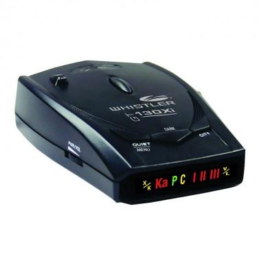 Detector radar Whistler GT 130Xi, Detecteaza benzile X K KA, Laser 360, Versiune europeana, Imunitate VG2