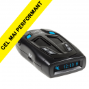 Detector radar Whistler GT 468 GXi, Detecteaza benzile X K KA, Laser 360, GPS intern, POP, Salvare automata a setarilor, Prioritizarea alertelor
