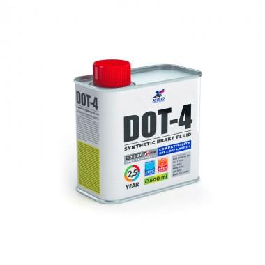 Lichid Xado DOT-4 pentru sistemele de franare