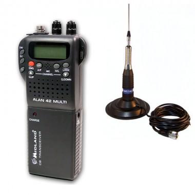 Pachet statie radio Alan 42 cu antena TL-H ML 145