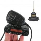 Pachet statie radio CB Albrecht AE 6110 cu antena Wilson Little Wil