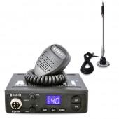 Pachet statie radio CB Avanti Alpha, tehnologie SMD + antena CB Bytrex MiniPlus