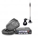 Pachet statie radio CB Avanti Supremo, microfon cu functii + antena CB Bytrex MiniPlus