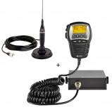 Pachet Statie Radio CB Cobra 75 ST EU si antena CB Cobra HG A1500