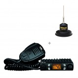 Oferta kit statie radio CB CRT One si antena Wilson Little Wil