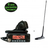 Pachet statie radio CB President Harry III 12 / 24 ASC cu antena radio CB President Virginia