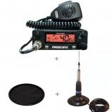 Pachet statie radio CB President Truman cu antena TL-H ML 145 si suport cauciuc 145U