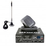 Pachet statie radio CB Storm Discovery, control Squelch + antena CB Bytrex MiniPlus