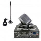 Pachet statie radio CB Storm Discovery, control Squelch + antena CB Bytrex MiniPlus