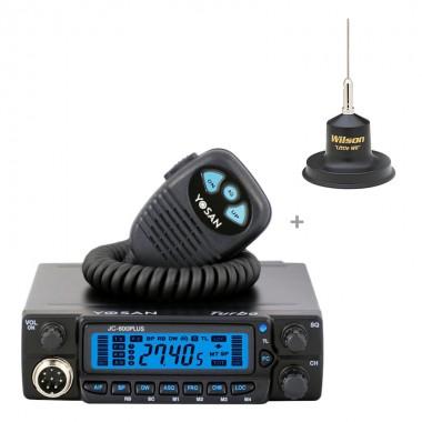 Pachet satie radio CB Yosan JC 600 si antena CB Wilson Little Wil