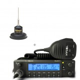 Kit statie radio CB Yosan Stealth 5 si antena CB Little Wil