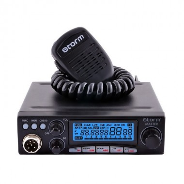 Statie radio CB Avanti Master, putere reglabila 4-35 W, tehnologie SMD, functii multiple