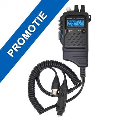 Statie radio CB Storm Turboextreme, Tehnologie SMD, RF Gain, Ecou reglabil, Portabila