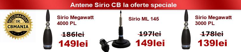 Promotie antene CB Sirio
