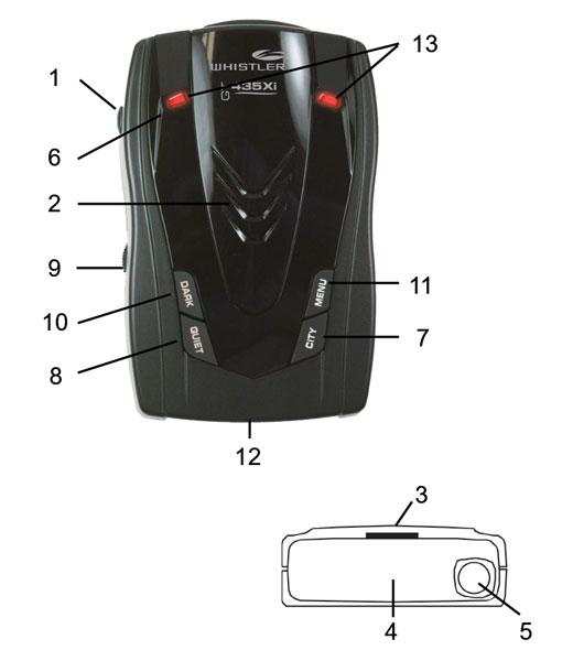 Componente Whistler 435xi