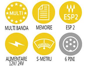 Caracteristici principale statie radio Alan 48 Excel Multi