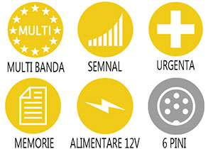 Caracteristici principale statie radio Alan 48 Plus Multi