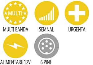Caracteristici principale statie radio Alan 78 Plus Multi