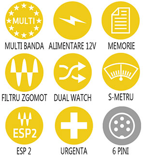 Caracteristici principale statie radio Midland 278