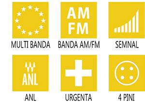 Caracteristici principale statie radio M-Tech Legend I