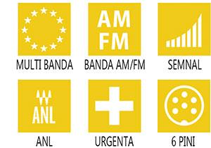 Caracteristici principale statie radio CB M-Tech Legend II