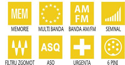 Caracteristici principale statie radio M-Tech Legend III
