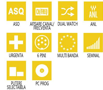 Caracterisitici principale statie radio CB PNI Escort HP 9000 ASQ