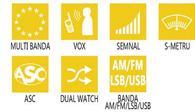 Caracteristici principale statie radio President Grant II ASC