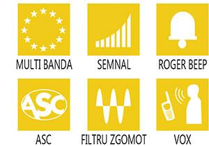 Caracteristici principale statie radio President Harry III ASC