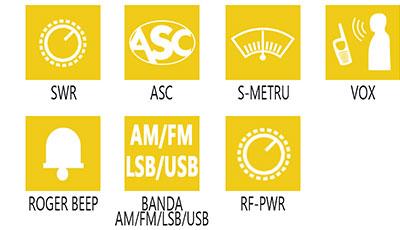 Caracteristici principale statie radio President Jackson II ASC