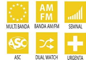 Caracteristici principale statie radio President Johnson II ASC