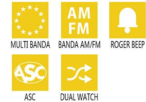 Caracteristici principale statie radio President Randy II P