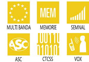 Caracteristici principale statie radio President Thomas ASC