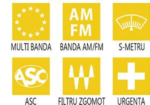 Caracteristici principale statie radio President Walker ASC