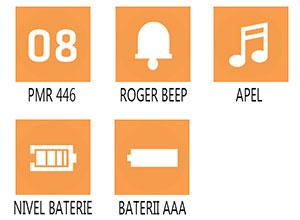 Caracteristici principale statie radio pmr Cobra MT 245 VP EU