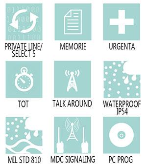 Caracteristici principale statie radio profesionala Motorola GM360