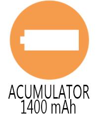 Capacitate acumulator Vertex VX 160
