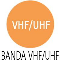Banda de emisie receptie a statiei radio Vertex VX 160
